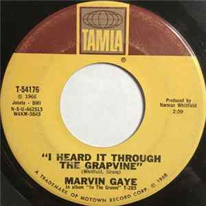 🎸 Marvin Gaye - I Heard It Through The Grapevine / You're What's Happening (In The World Today) Album